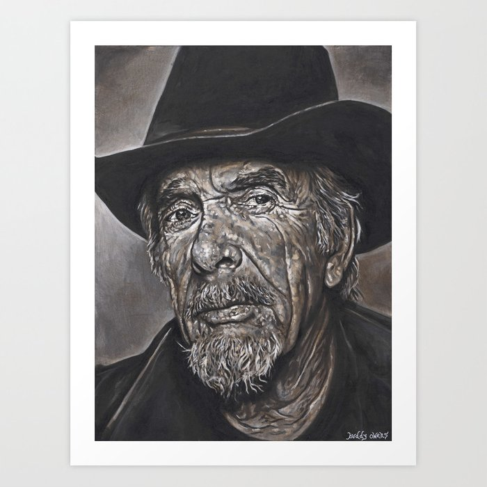 Haggard Outlaw Art Print