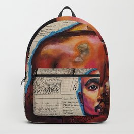 lyrics,poems,rapper,colourful,colorful,poster,wall art,fan art,music,hiphop,rap,rapper,legend,shirt, Backpack