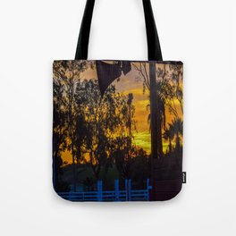 Surf City Equestrian Sundown Tote Bag