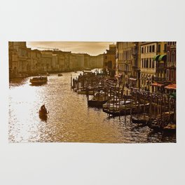 Sunset in Venice Rug