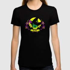 Social Justice Witch X-LARGE Black Womens Fitted Tee