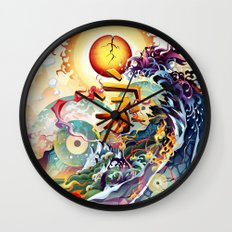Japan Earthquake 11-03-2011 Wall Clock