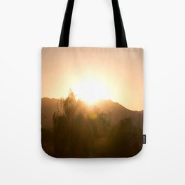 Arizona Surise Tote Bag