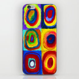 Wassily Kandinsky Color Study iPhone Skin