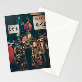 "PHOTOGRAPHY ""Typical Japan Street"" Stationery Cards"
