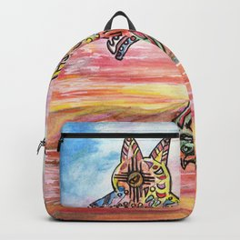 Trixter by KC Krimsin Backpack