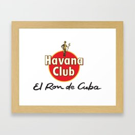 HAVANA CLUB 1 Framed Art Print