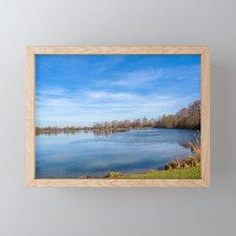 DE - Baden-Württemberg : View to the lake Framed Mini Art Print