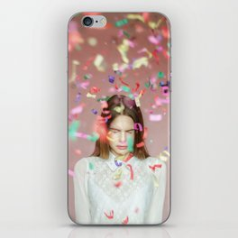 unexpected happiness iPhone Skin