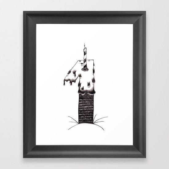 uno Framed Art Print