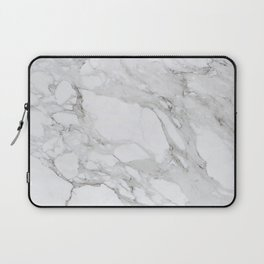 Calacatta Marble Laptop Sleeve