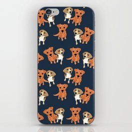 Cleo and Ginger Pattern iPhone Skin