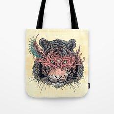 Masked Tiger Tote Bag