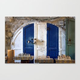 Jerusalem Doors 2 Canvas Print