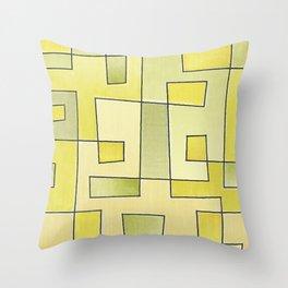 "Proto pattern n 2 ""fresh lemonade"" Throw Pillow"