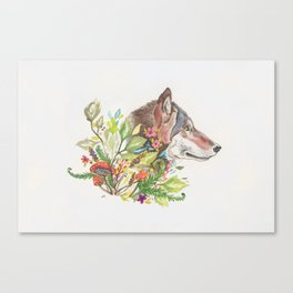 Forest Wolf Canvas Print