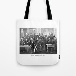 Our Presidents 1789 - 1881 Tote Bag