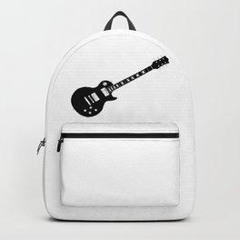 Black Guitar Backpack