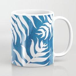 Caribean Blue Palms Coffee Mug