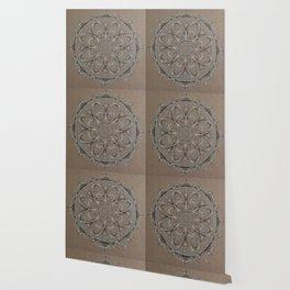 The Blue Arches Mandala Wallpaper