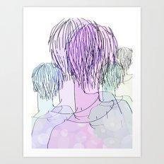 Mannie Art Print