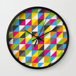 ColoTria Wall Clock