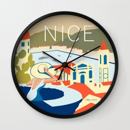 Nice – Daytime Version Wall Clock