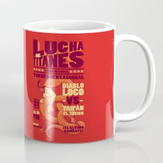 Lucha de Titanes Mug
