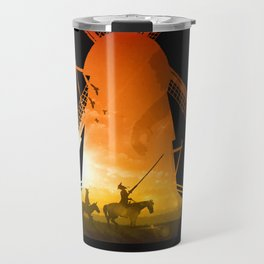 Fighting Giants (dark version) Travel Mug