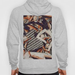 African American Masterpiece 'Harlem Dance Hall Days' - Drawing in Two Colors by Winold Reiss Hoody