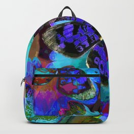 Butterfly Blues Backpack