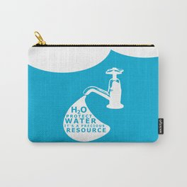WATER CONSERVATION Carry-All Pouch
