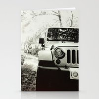jeep Stationery Cards featuring Jeep by selfishmistakes