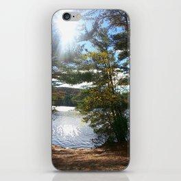 Quiet Lake in Autumn iPhone Skin