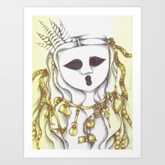 The Ghostesses Of Caprice Art Print #3 Art Print