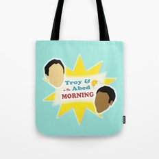 Community Troy & Abed in the Morning Tote Bag