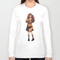 hermione Long Sleeve T-shirts featuring Hermione by C. Cassandra