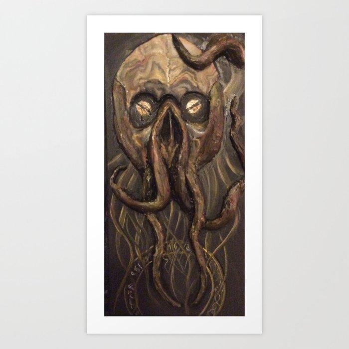 The Elder God Art Print