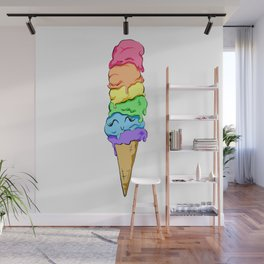 Happy Ice Cream Wall Mural