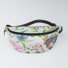 Spring Chinoiserie Fanny Pack