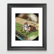 Zoom Framed Art Print