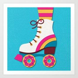 Sweet Wheels Art Print
