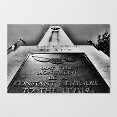 Monumentum. Canvas Print