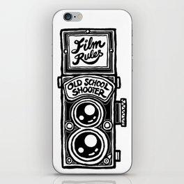 Analog Film Camera Medium Format Photography Shooter iPhone Skin