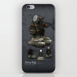 Dirty Pig iPhone Skin