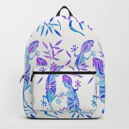 Geckos – Indigo Palette Backpack