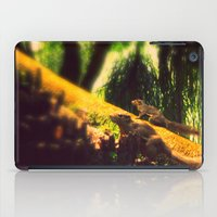 climbing iPad Cases featuring Climbing up. by BlacknWhite