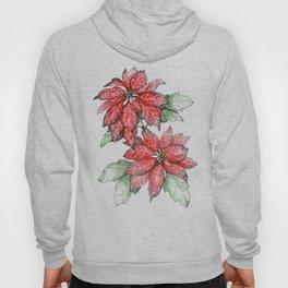 A Christmas Flower Hoody