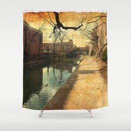 Factories Past Shower Curtain