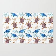 The Sea Turtle Pattern Rug